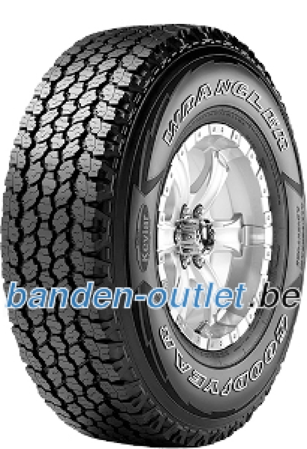 Goodyear Wrangler All-Terrain Adventure ( 245/70 R16C 111/109T 6PR )