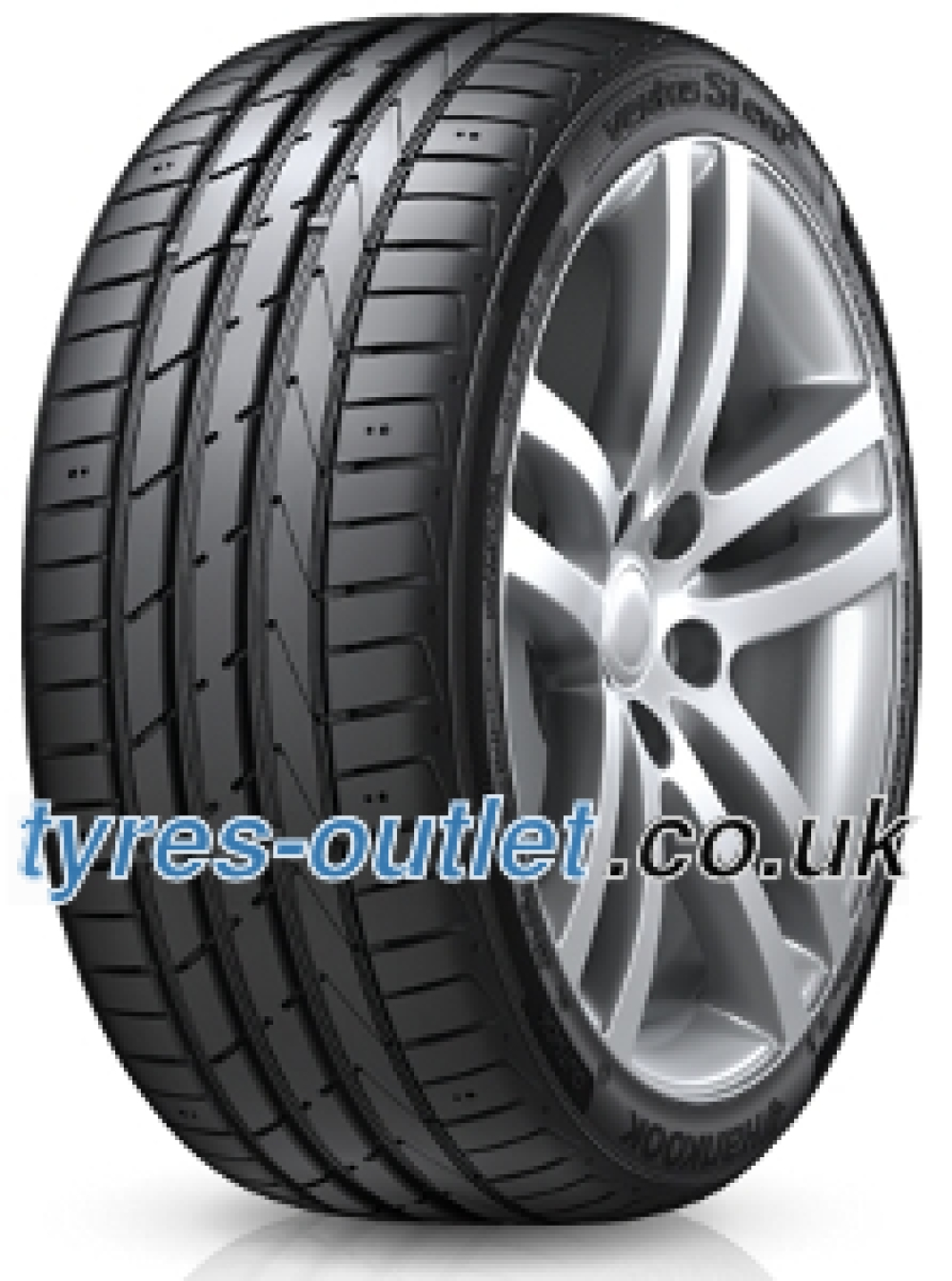 Hankook Ventus S1 Evo 2 K117 B HRS ( 225/35 R19 88Y XL with rim protection (MFS), runflat SBL )