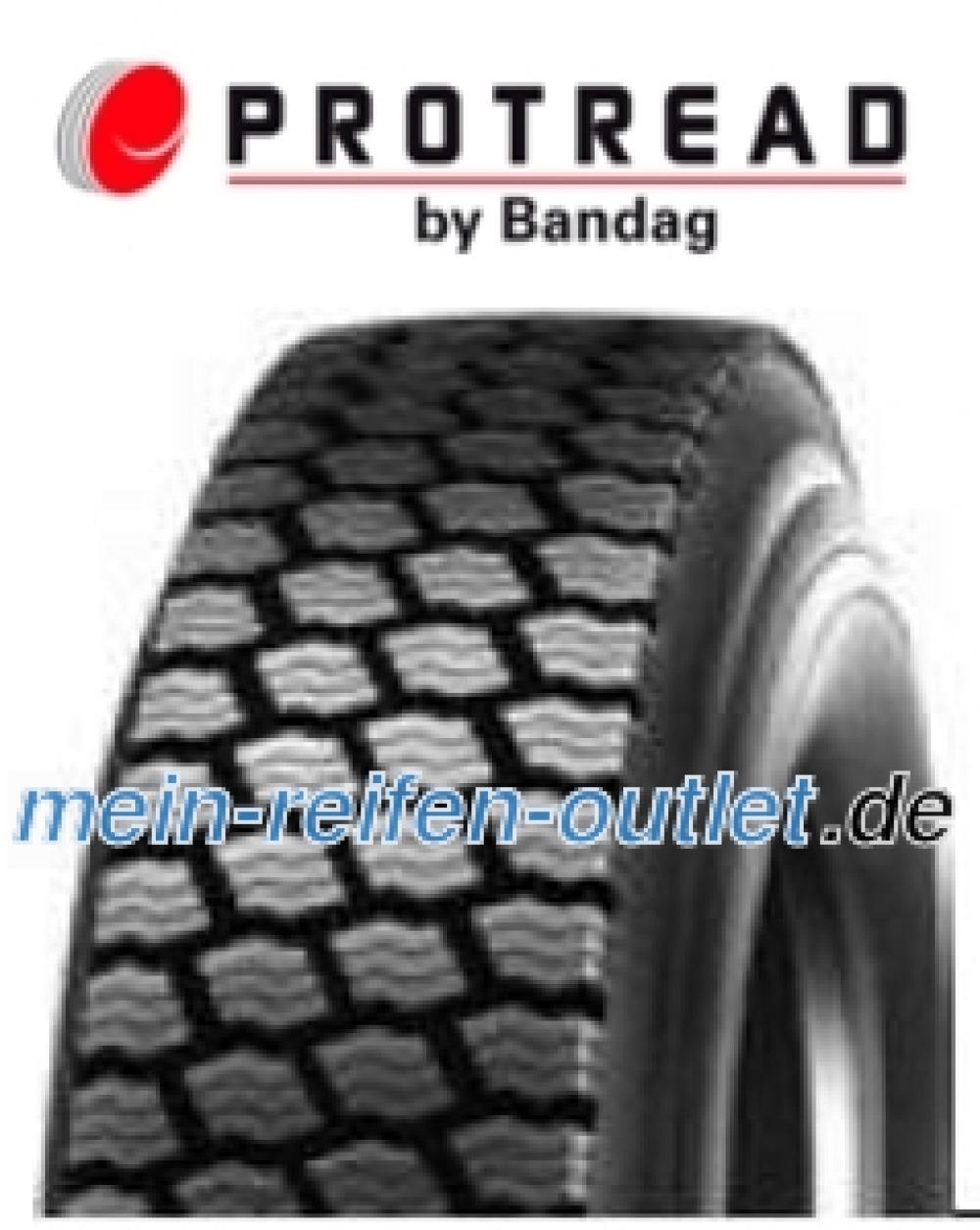 Kaltrunderneuerung Pro Tread Winter ( 315/60 R22.5 152/148L Karkassqualität FV, Profiltiefe 19.5mm, runderneuert )