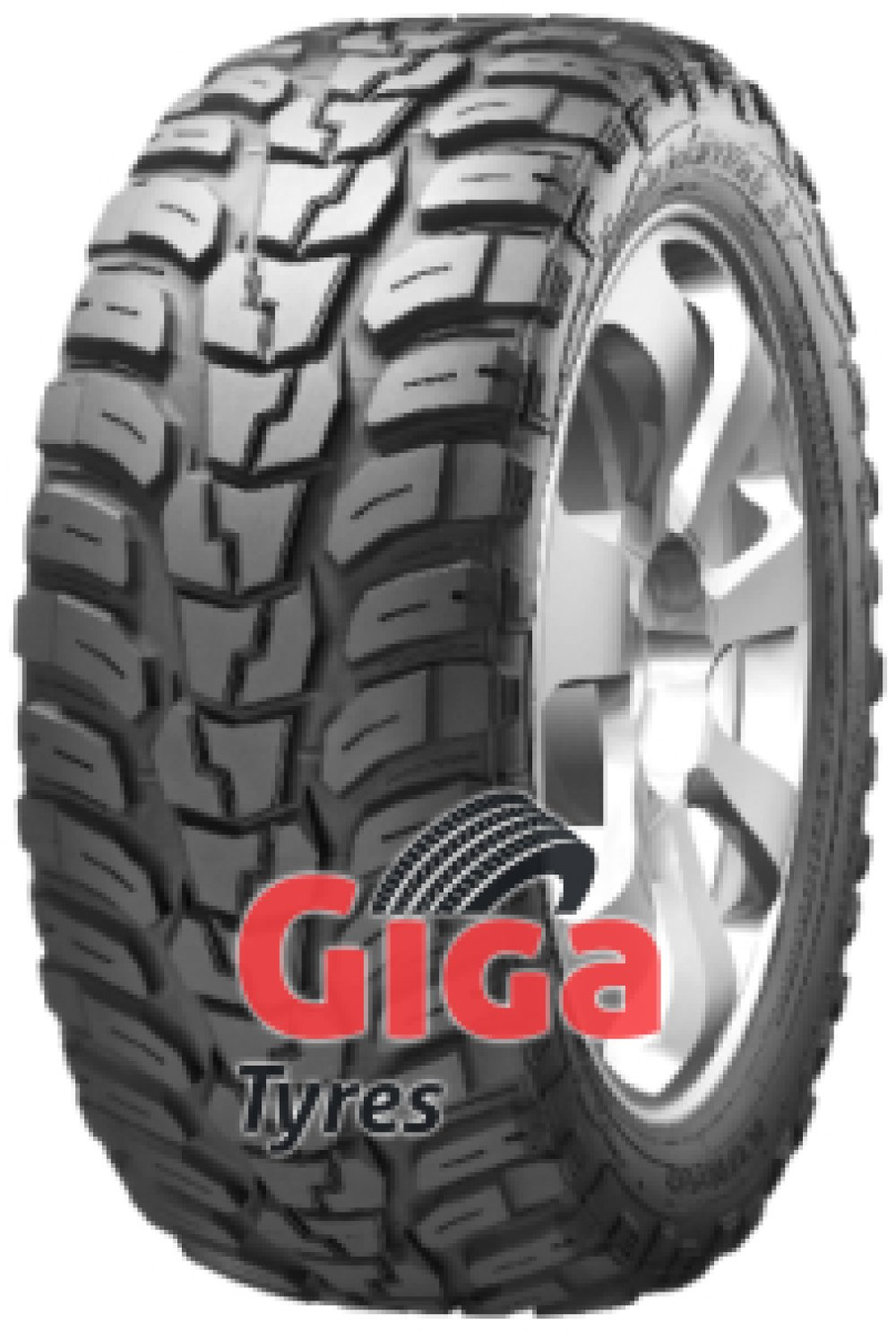 Kumho Road Venture MT KL71 ( LT285/75 R16 126/123Q 10PR POR, with rim protection ridge (FSL) )