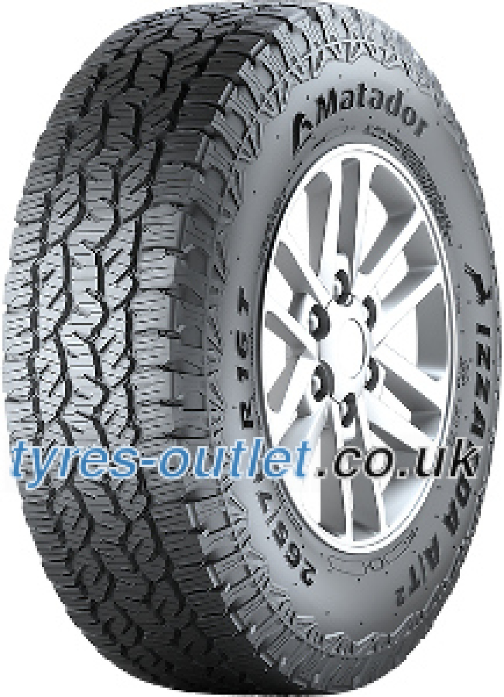 Matador MP72 Izzarda A/T 2 ( 255/55 R19 111H XL , with kerbing rib )