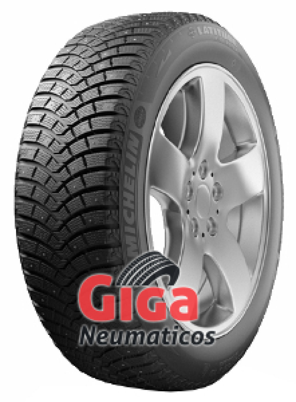 Michelin Latitude X-Ice North 2+ ( 225/60 R17 103T XL, con sistema de anclaje de clavos )