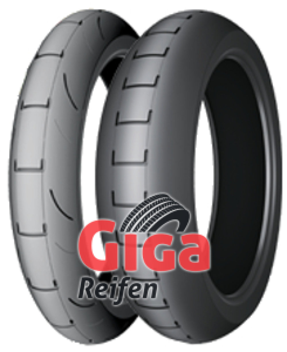 Michelin Power Supermoto ( 160/60 R17 TL Hinterrad, Mischung RAIN, NHS )