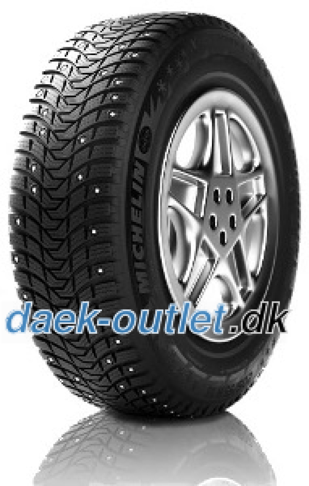 Michelin X-Ice North 3 ( 225/45 R17 94T XL , kan forsynes med spikes )
