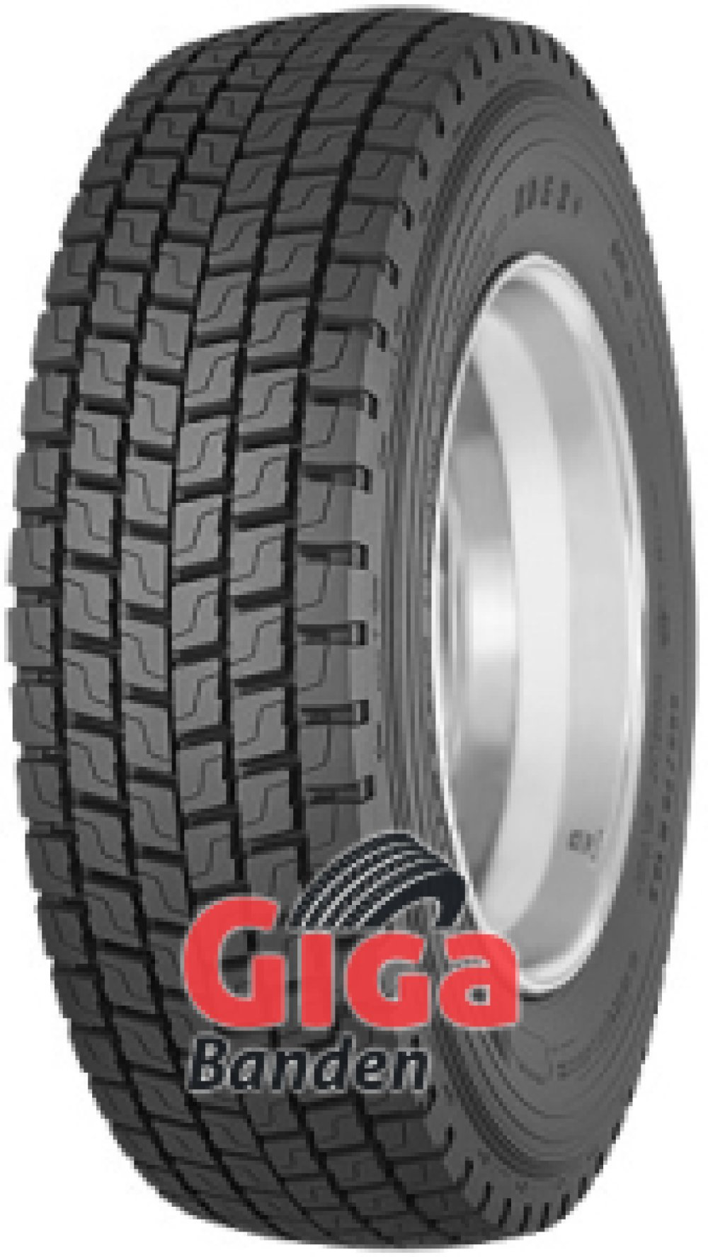 Michelin XDE 2+ ( 315/80 R22.5 156/150L )
