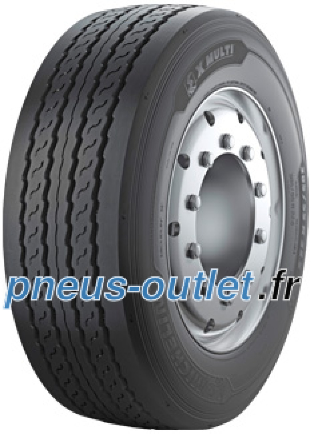 Michelin X Multi T ( 245/70 R17.5 143/141J Double inscription 146/146F )
