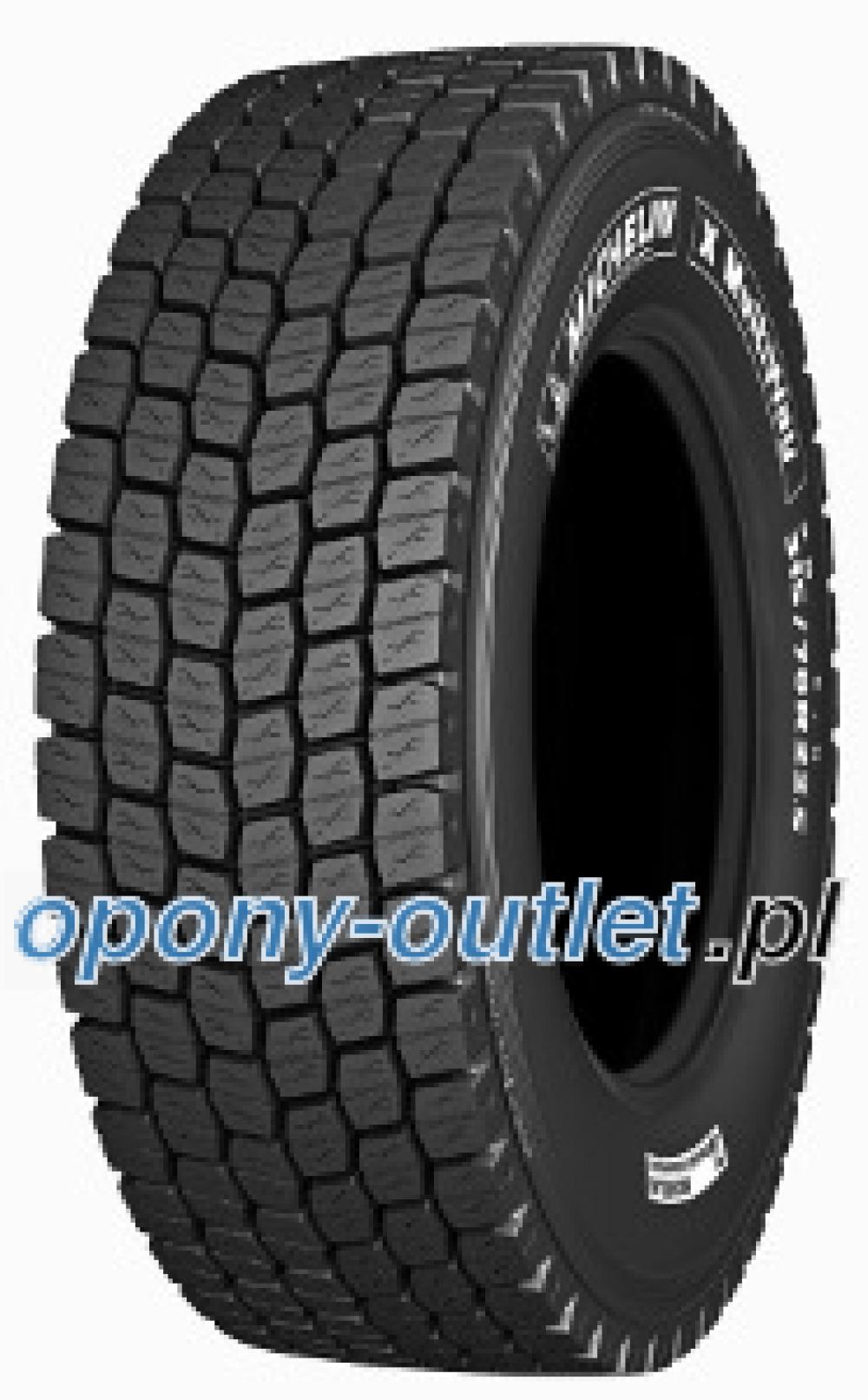 Michelin X  MULTIWAY  XD ( 295/60 R22.5 150/148K , podwójnie oznaczone 149/146L )