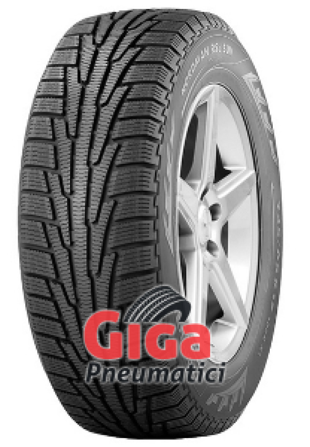 Nokian Nordman RS2 ( 225/50 R17 98R XL Nordic compound )