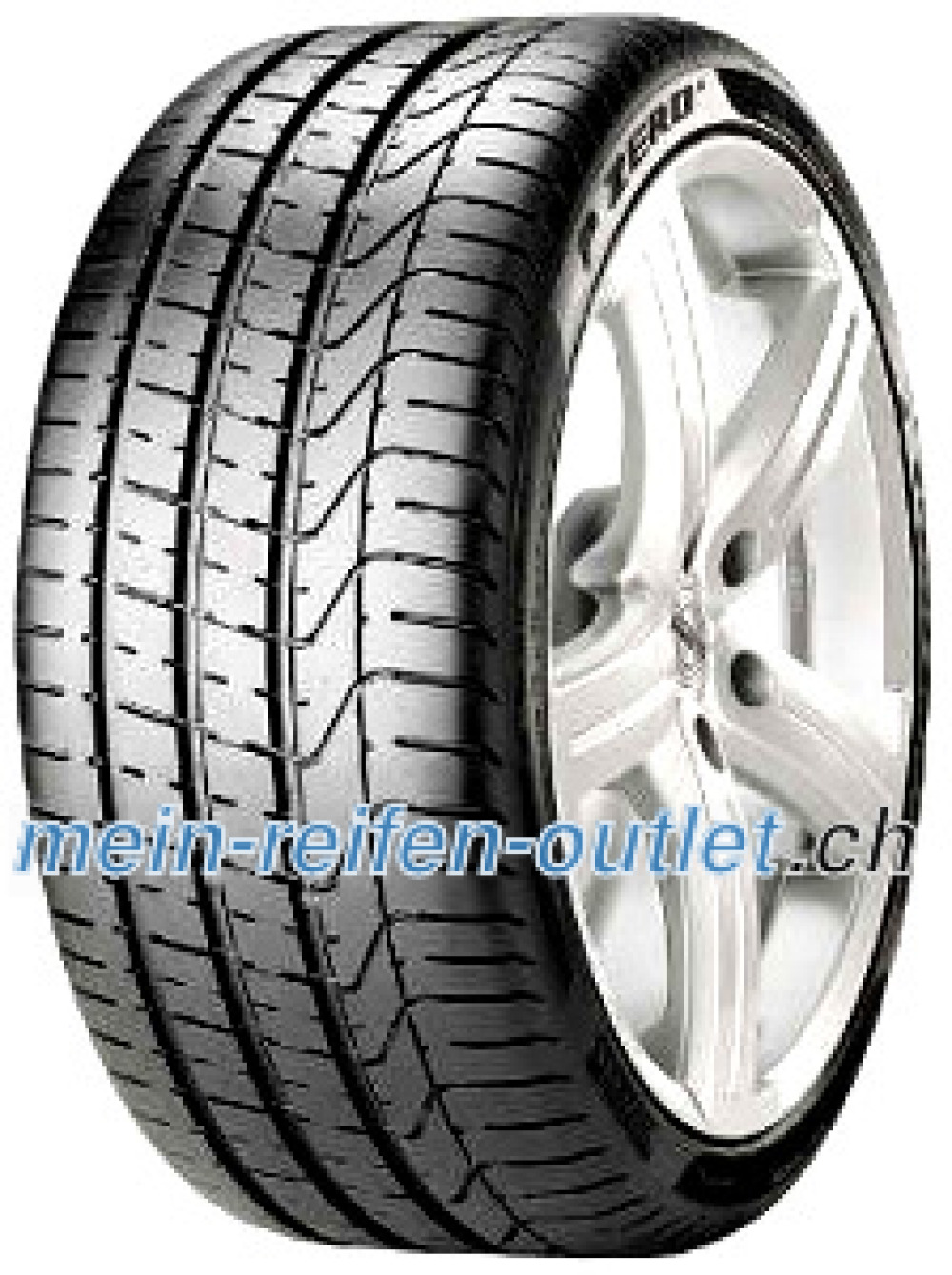 Pirelli P Zero Corsa Asimmetrico 2 ( 245/35 ZR19 (93Y) XL MC, mit Felgenschutz (MFS) )