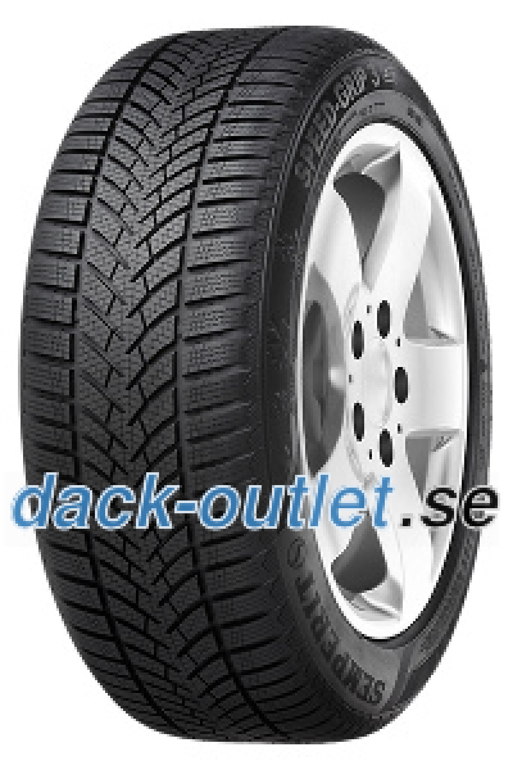 Semperit Speed-Grip 3 ( 215/55 R17 98V XL , med fälgskydd )