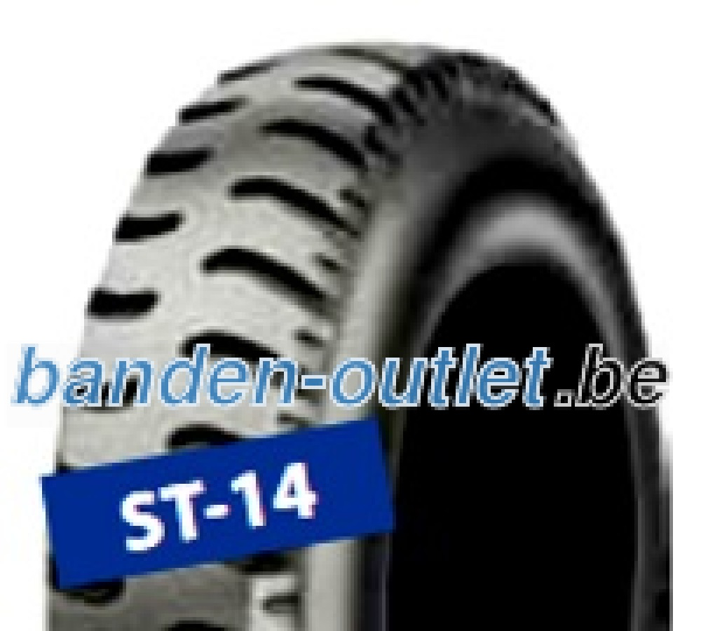 Starco ST-14 Set ( 2.80 -4 4PR TT Dubbel merk 2.80 , NHS, SET - Reifen mit Schlauch, Doppelkennung 2.80/2.50-4 )