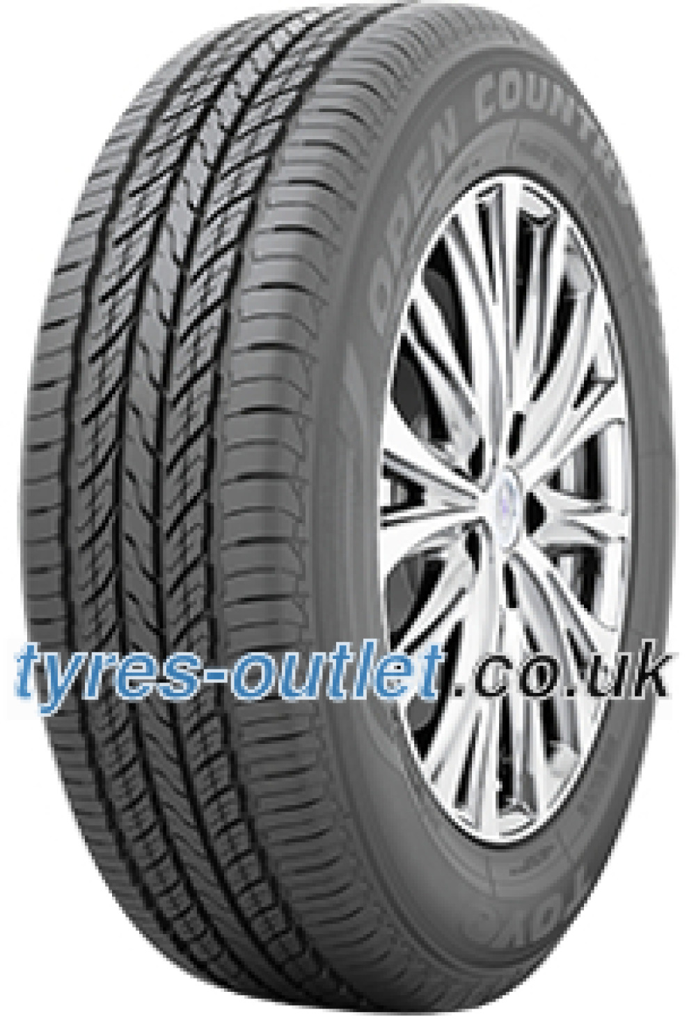 Toyo Open Country U/T ( 255/65 R17 110H with rim protection ridge (FSL) )