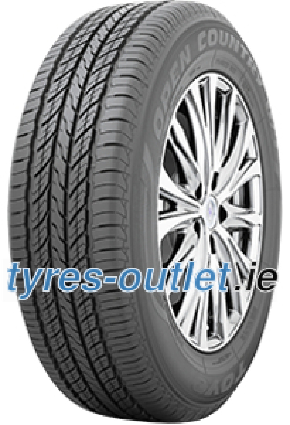 Toyo Open Country U/T ( 225/60 R17 99V with rim protection ridge (FSL) )