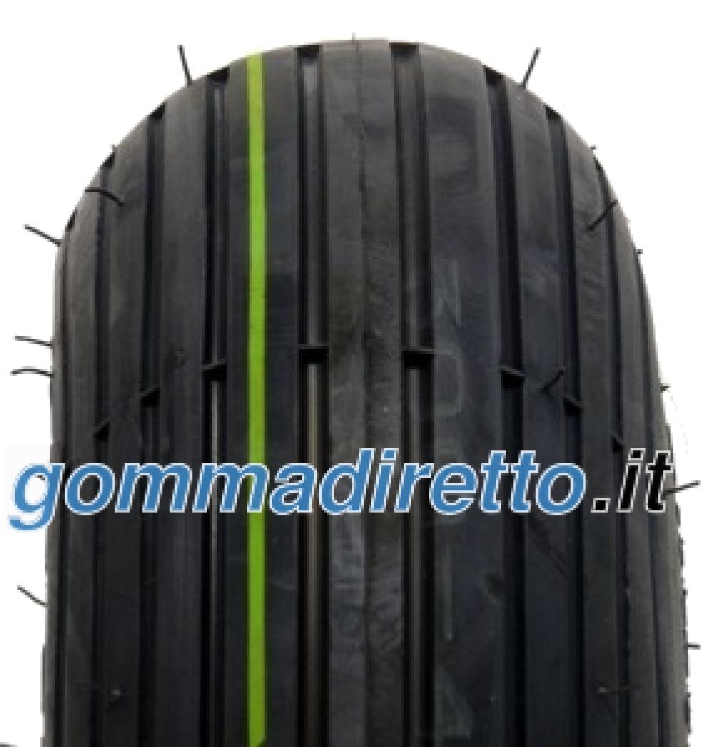 Image of Veloce V5501 Rille SET ( 4.00 -4 4PR TT NHS, SET - Reifen mit Schlauch, schwarz )