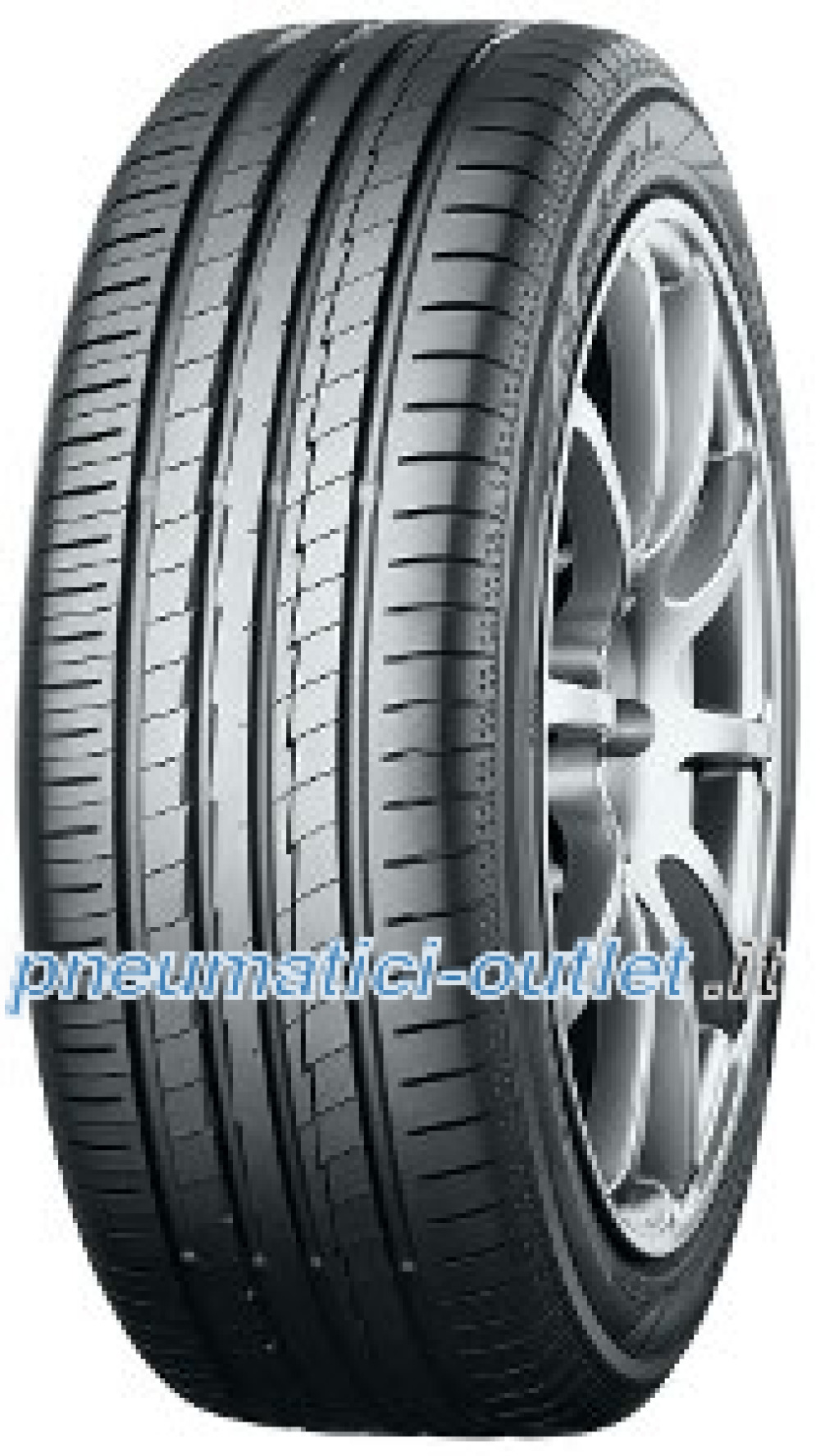 Yokohama BluEarth-A (AE-50) ( 205/40 R17 80H Orange Oil )