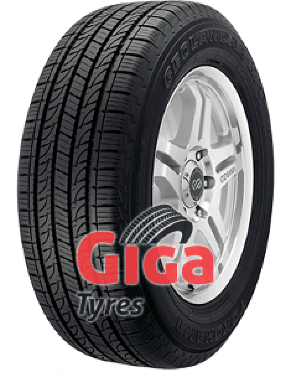 Yokohama Geolandar H/T (G056) ( 285/60 R18 116H , Orange Oil )