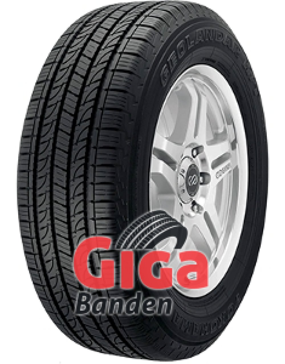 Yokohama Geolandar H/T (G056) ( 255/70 R16 111H , Orange Oil )