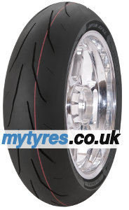 Cheapest price of Avon 3D Ultra Xtreme AV82 AC1 16060 ZR17 TL 69W Rear wheel Racing tyres mixture Medium in new is £146.50