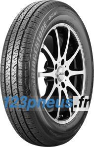 DEs pneus specialement construit pour le 3-Liter-Lupo de Bridgestone, avec un excellente résistance au roulement.