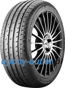 Continental ContiSportContact 3 SSR 245/50 R18 100Y *, runflat