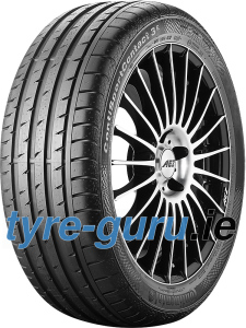 Continental ContiSportContact 3 E SSR 235/45 R17 97W XL with kerbing rib, runflat