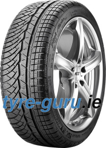 Michelin Pilot Alpin PA4 295/40 R19 108V XL , N0, with rim protection ridge (FSL)