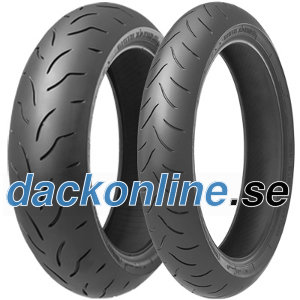 Bridgestone BT016 R Pro ( 190/50 ZR17 TL (73W) Bakhjul, M/C )