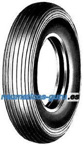 CST C-179 Set 4.00 -8 4PR TT NHS, SET - Reifen mit Schlauch