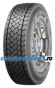 Dunlop SP 446 ( 315/70 R22.5 154L Marcare dubla 152M )