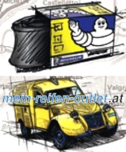 Michelin Collection Tubes CH 15/17 H 13