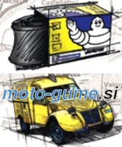 Michelin Collection Tubes   CH 20/21 CD RET
