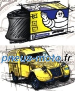 Michelin Collection Tubes   CH 760-90 RET