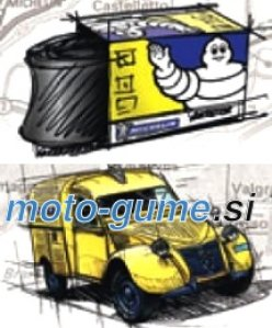 Michelin Collection Tubes   CH 820-120 RET