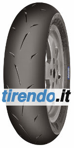 Image of Mitas MC35 S-Racer 2.0 ( 100/90-12 TL 49P ruota posteriore, Mescola di gomma Super Soft, ruota anteriore )