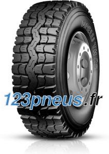 • Pneumatiques destinés aux tracteurs routiers puissants pour transports nationaux et internationaux et aux cars.
