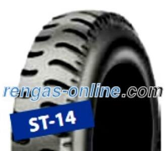 Starco ST-14 Set ( 2.80 -4 4PR TT kaksoistunnus 2.80 , NHS, SET - Reifen mit Schlauch, Doppelkennung 2.80/2.50-4 )